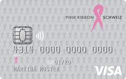 Erste Schritte mit PINK RIBBON Visa Bonus Card Prepaid
