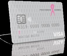 Erste Schritte mit PINK RIBBON Visa Bonus Card