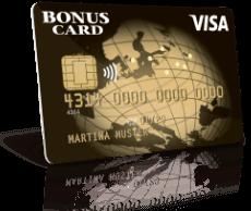 Erste Schritte mit Visa Bonus Card Exclusive