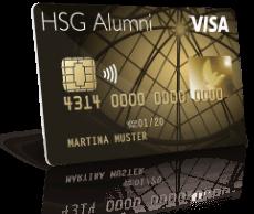 Erste Schritte mit HSG Alumni Visa Bonus Card Exclusive