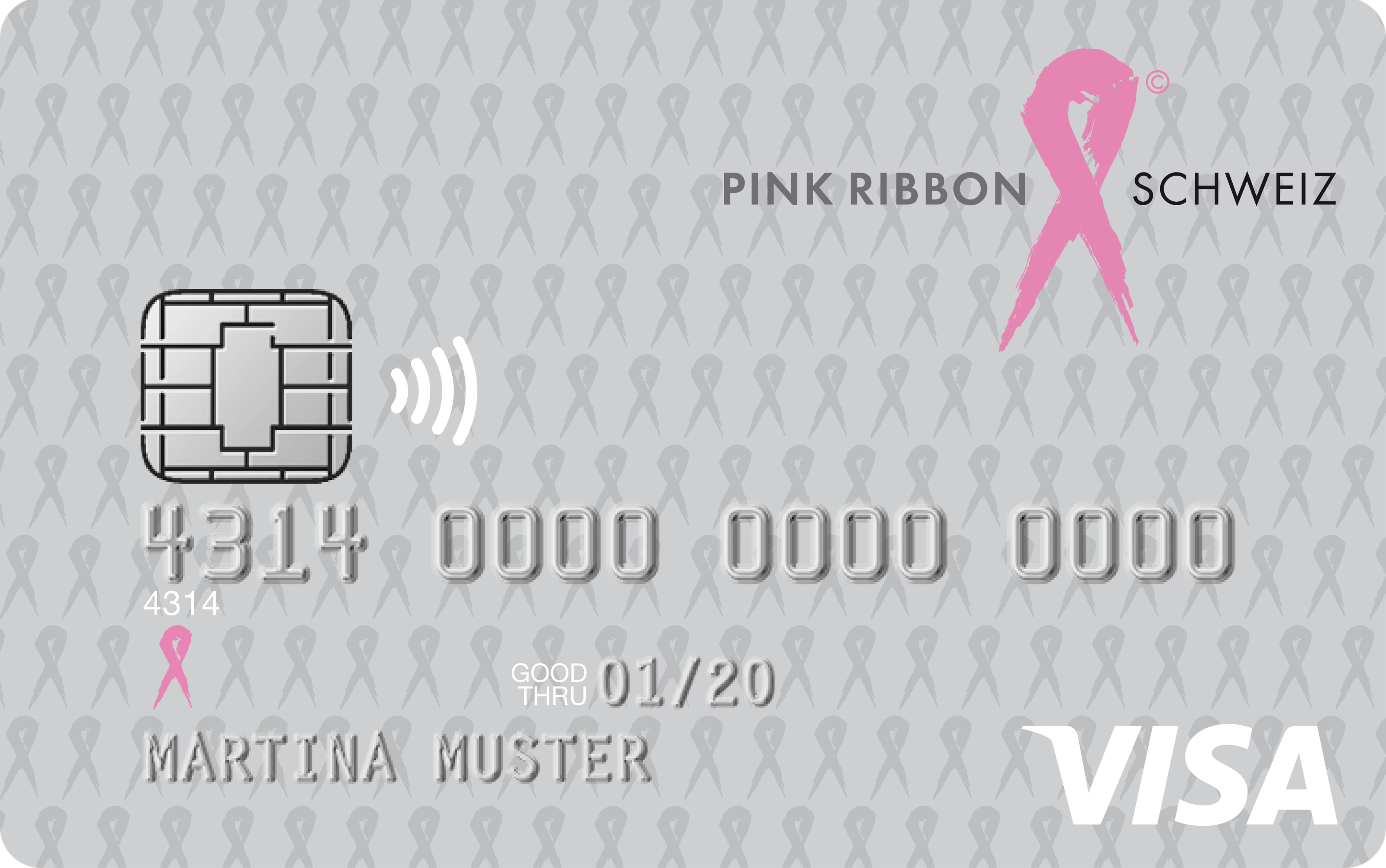 PINK RIBBON Visa Bonus Card