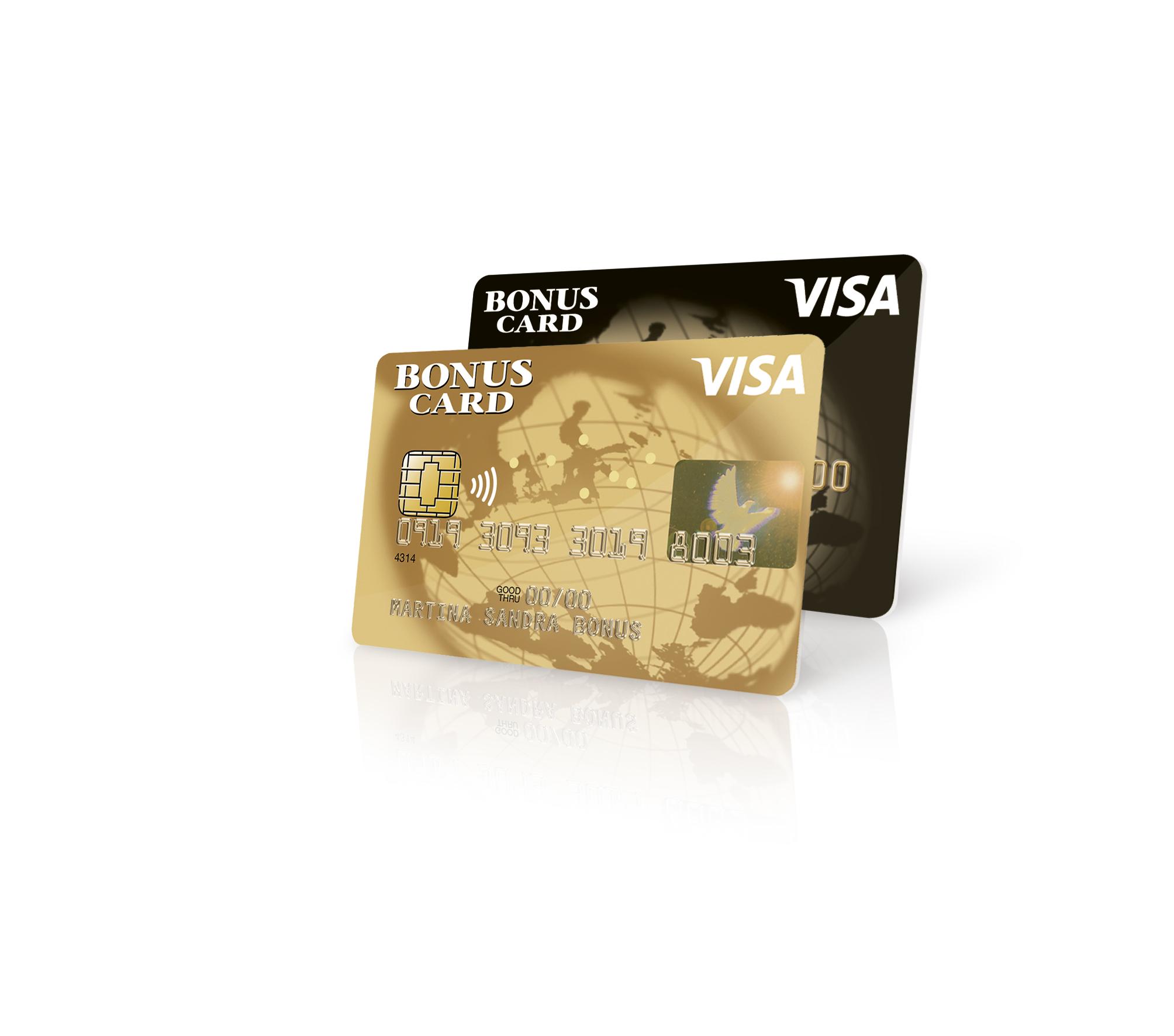 Visa Bonus Cards
