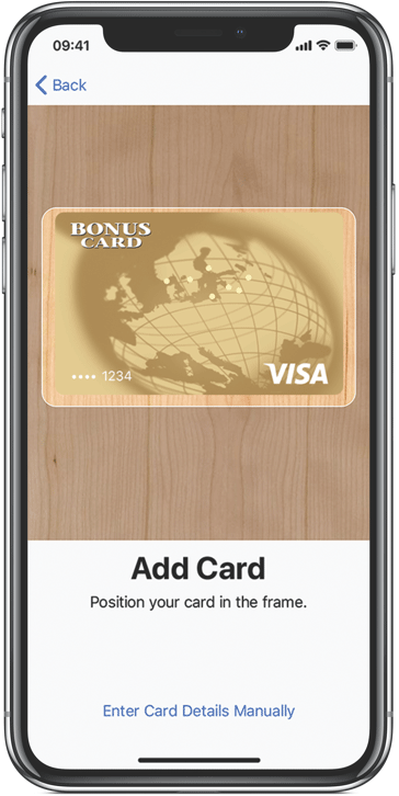 Bonuscard Apple Pay