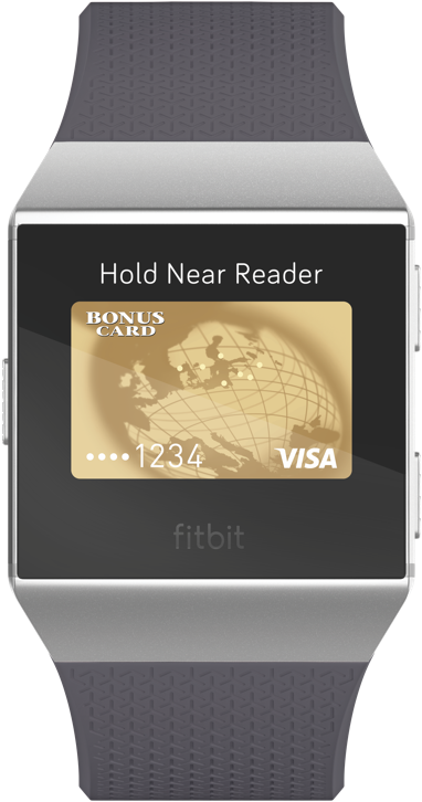 Configurer Fitbit Pay