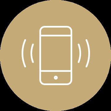 Smartphone klingelt