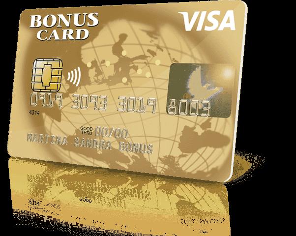 visa bonus card gold