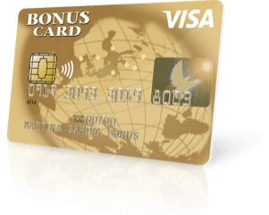 Visa Bonus Card Gold