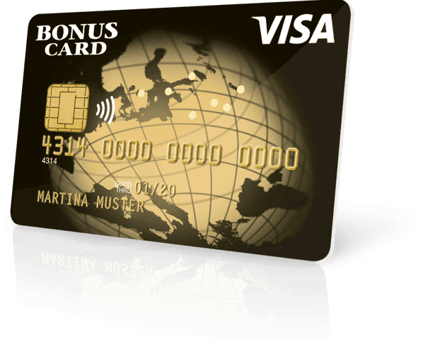 visa bonus card exclusive
