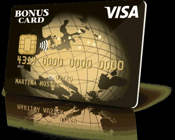 visa bonus card exclusive
