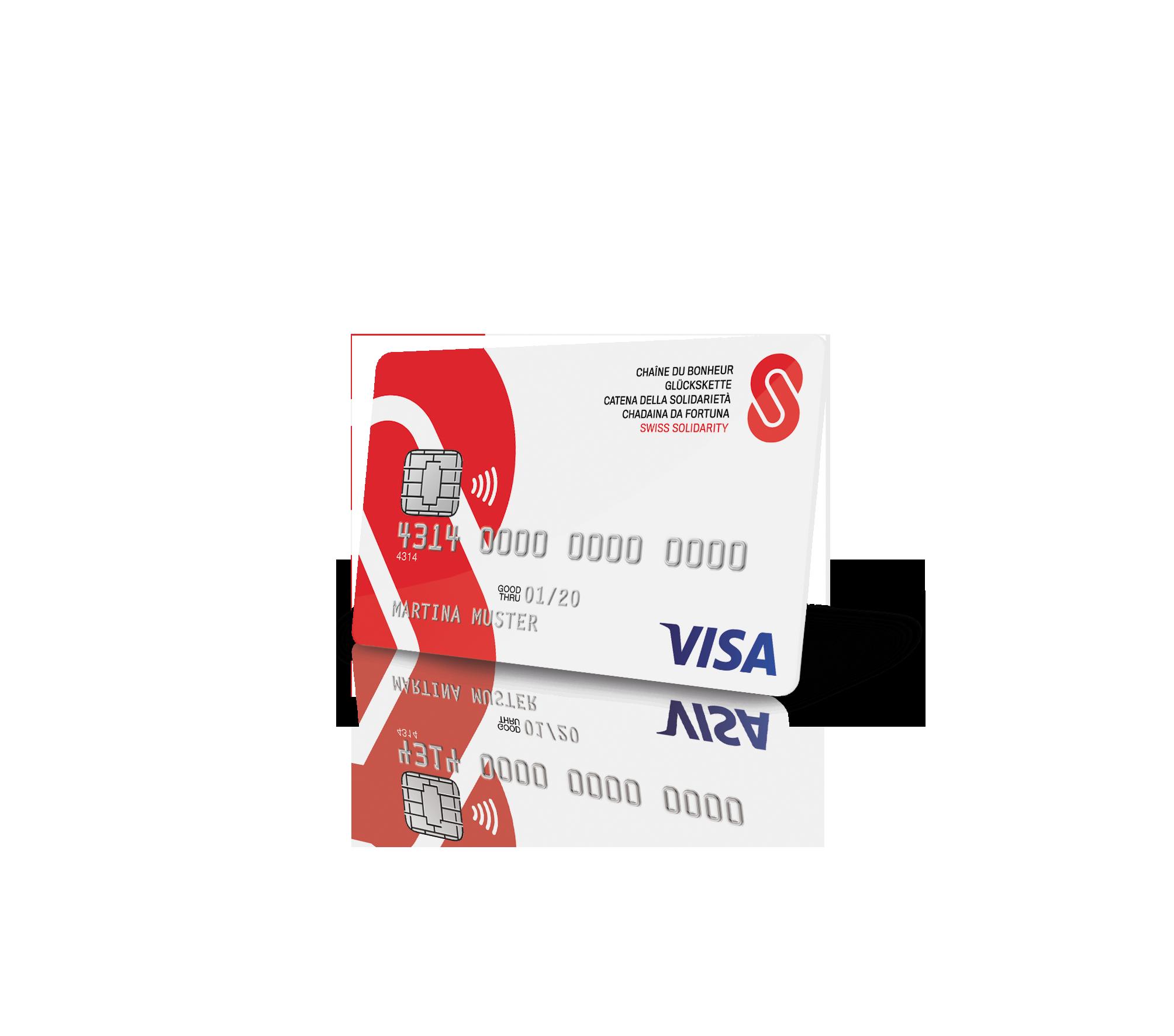 Glückskette Visa Card