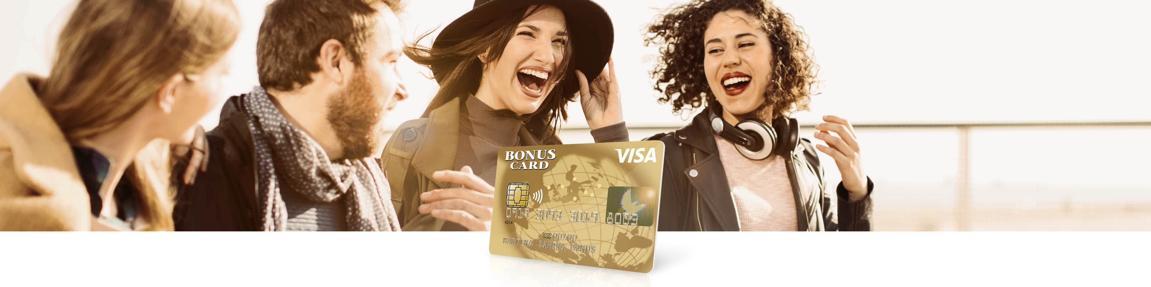 Visa Bonus Card Classic Prepaid