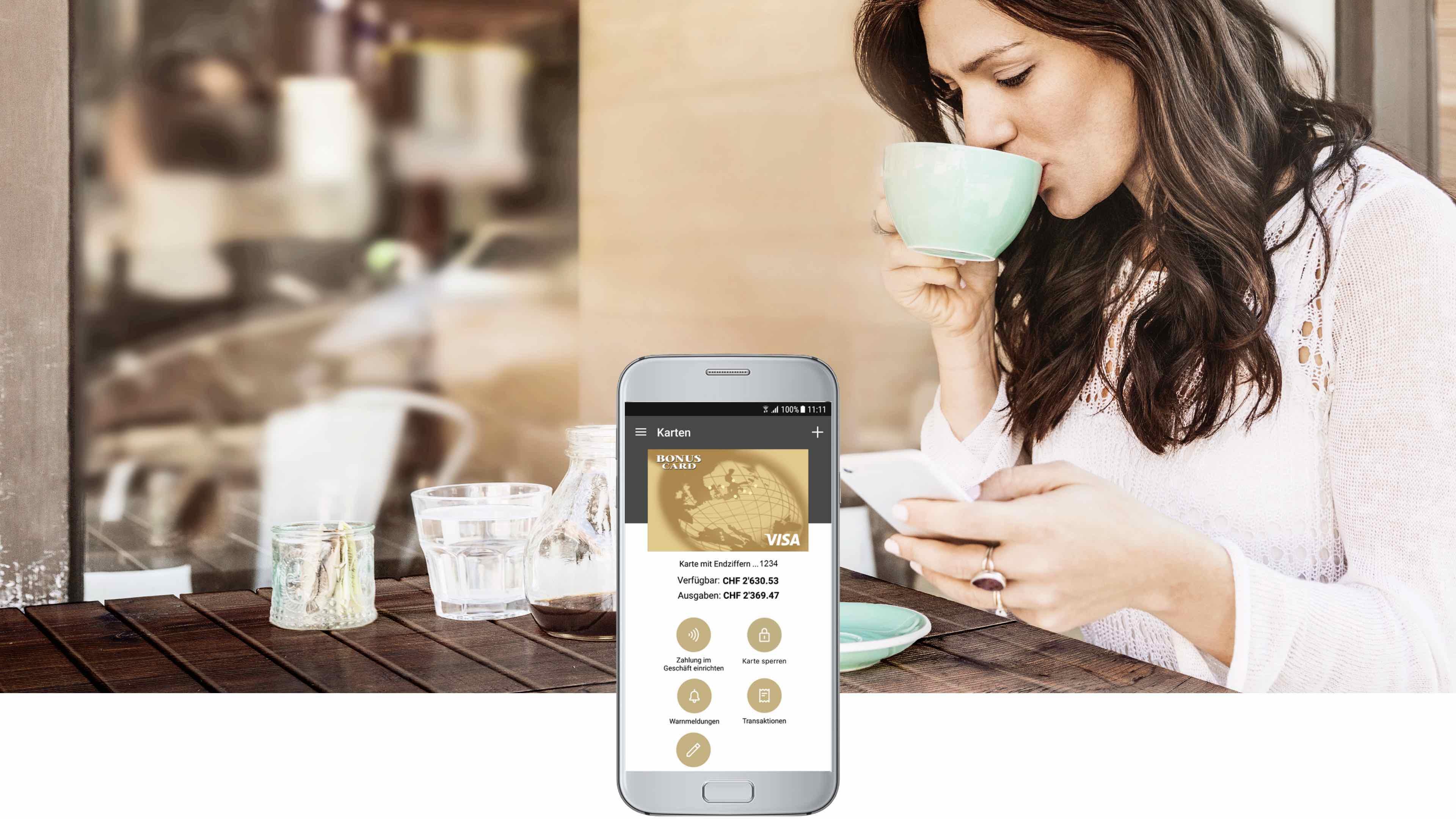 Visa Bonus Card App