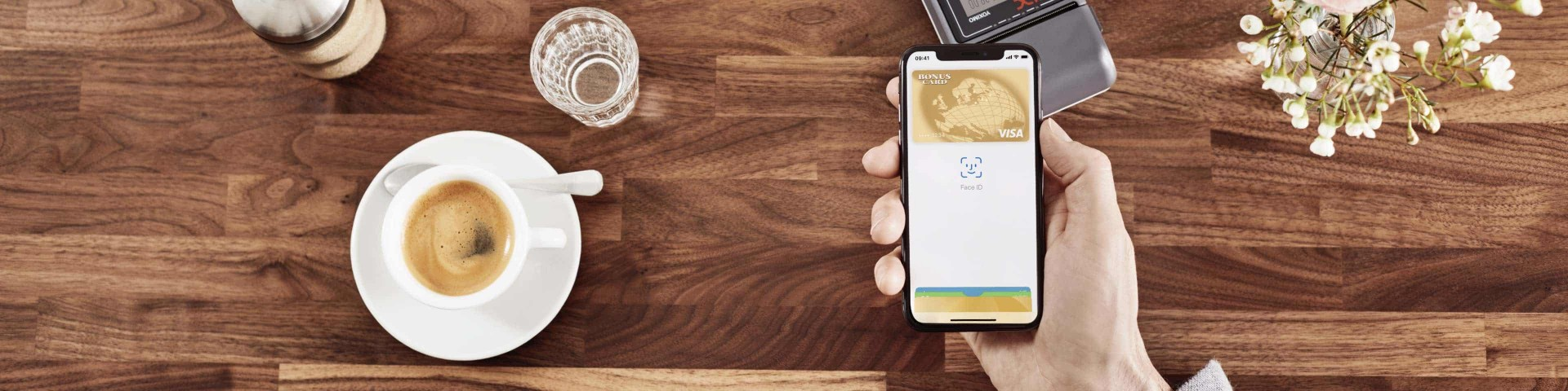 Apple Pay Coffee Shop Payment