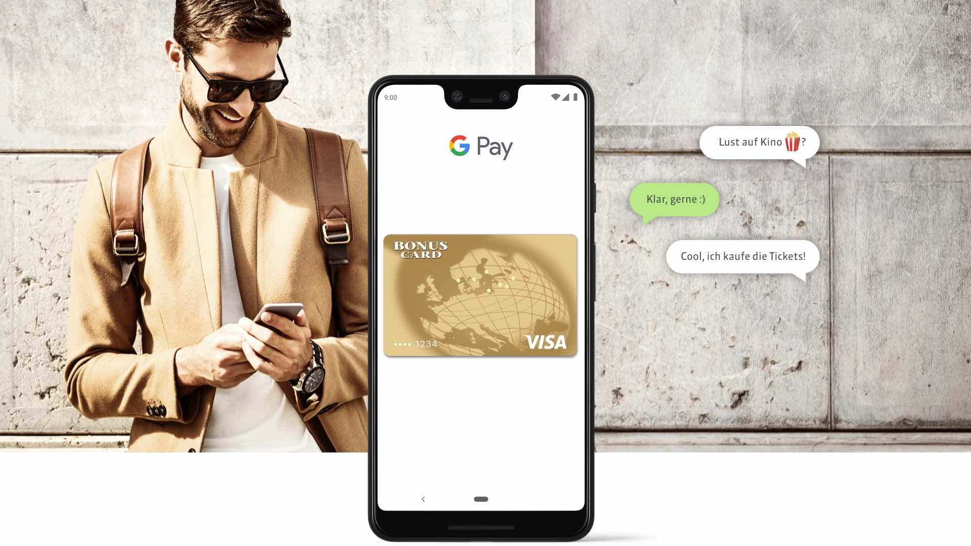 Header Google Pay
