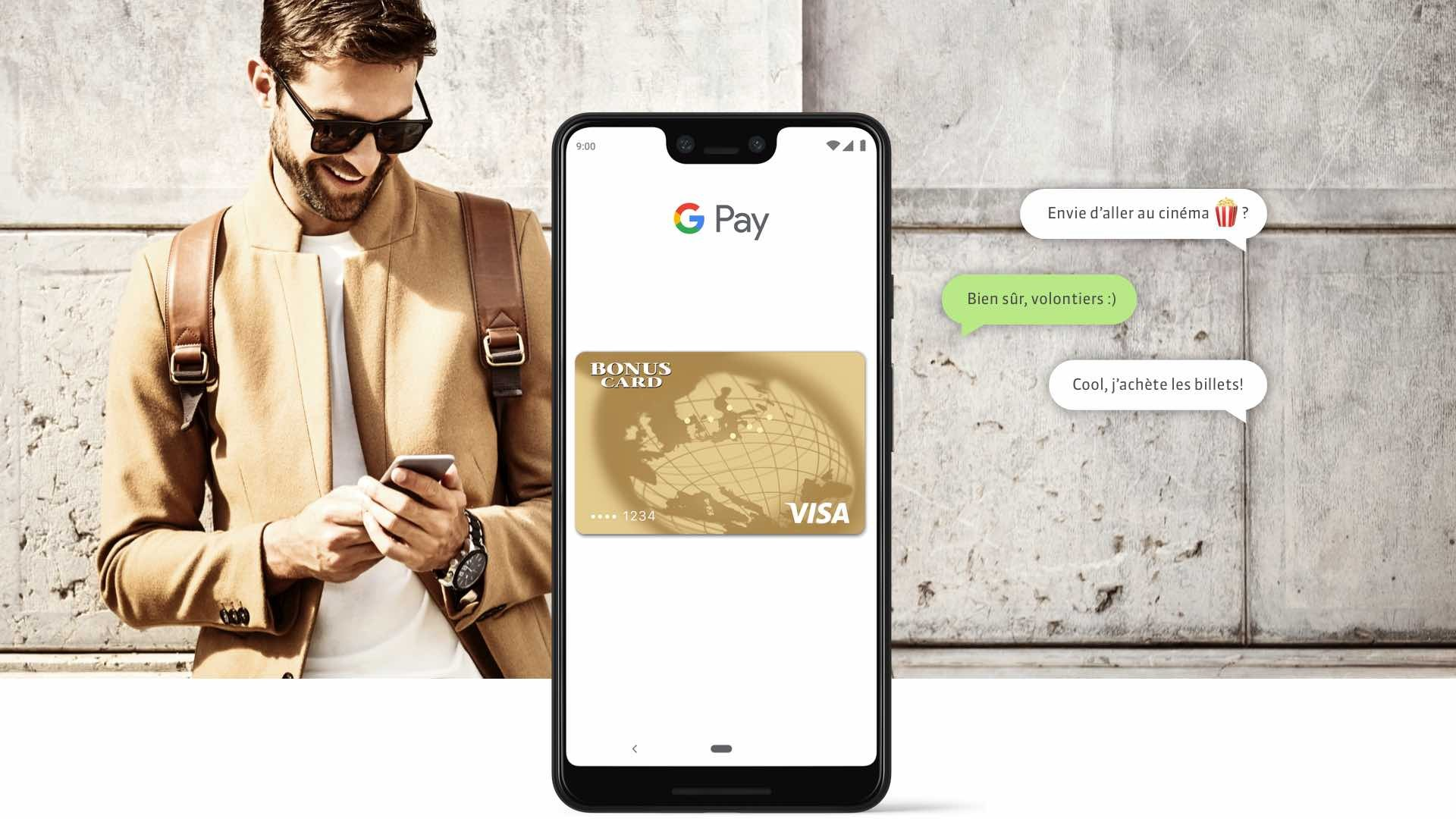 Bonuscard Google Pay