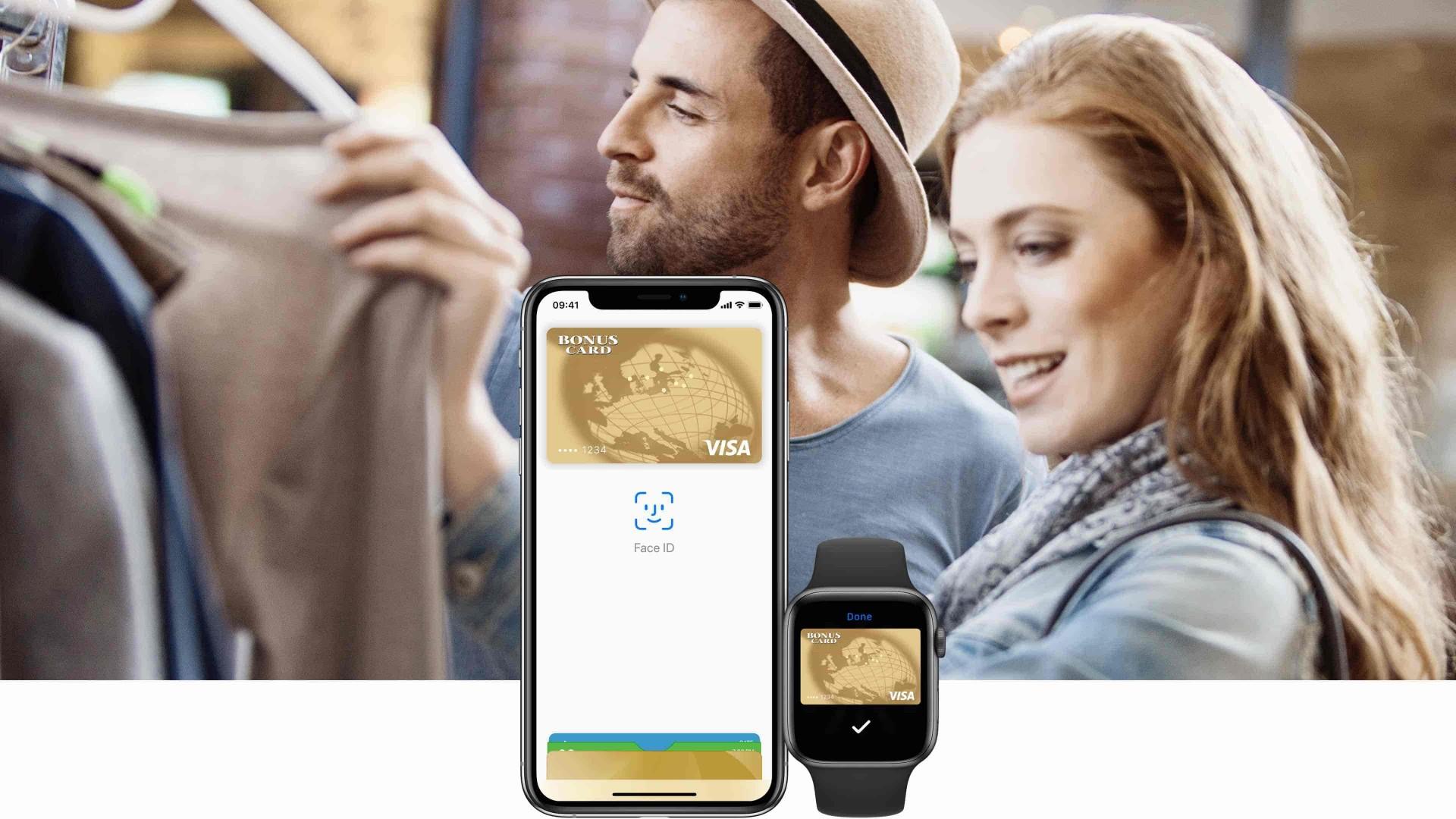 Bonuscard Apple Pay