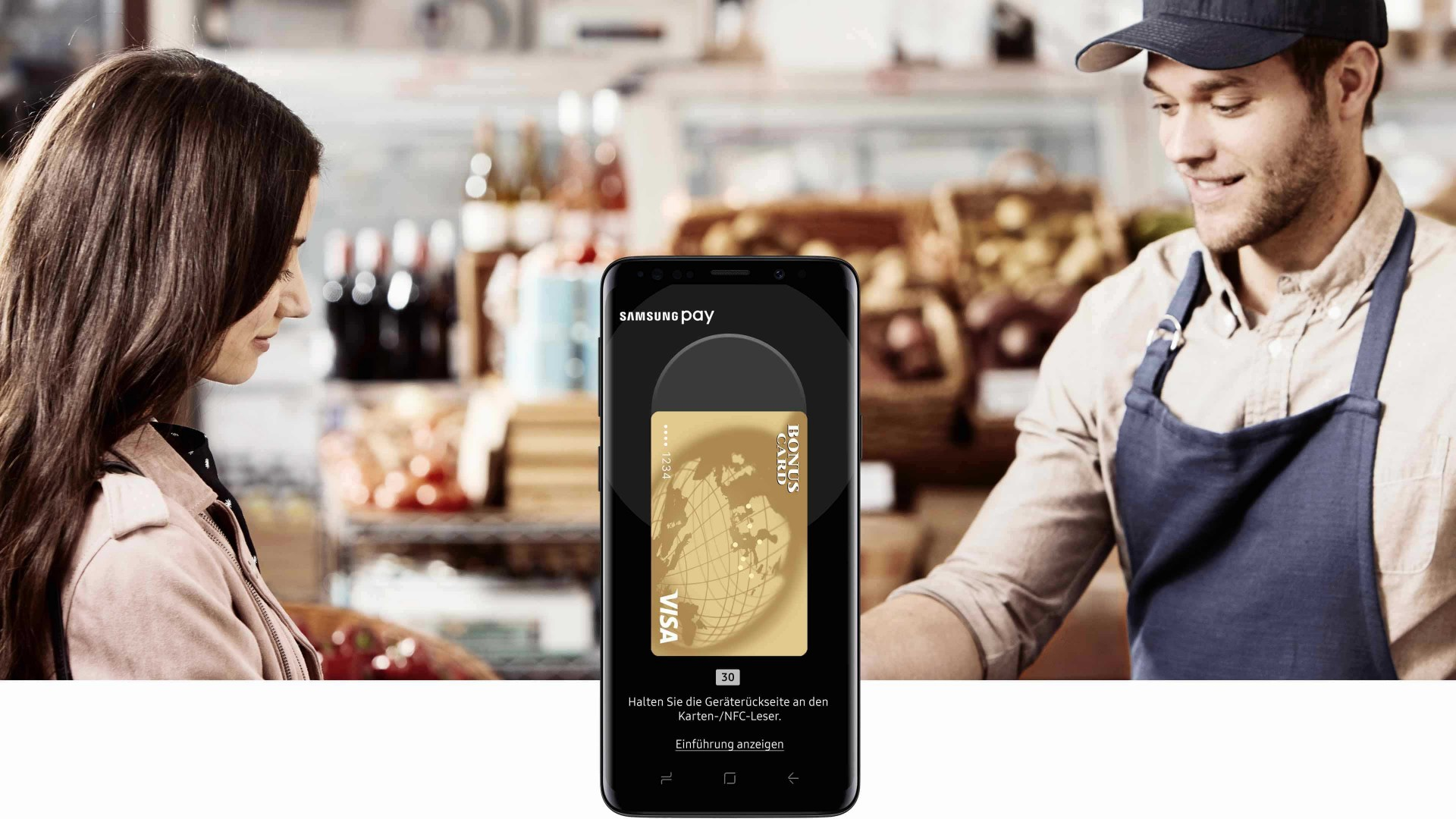 Bonuscard Samsung Pay